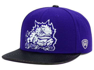 Texas Christian Horned Frogs Top of the World NCAA Carbonite Snapback Cap