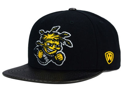 Wichita State Shockers Top of the World NCAA Carbonite Snapback Cap
