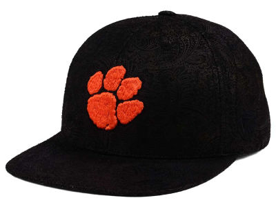 Clemson Tigers Top of the World NCAA Phasely Snapback Cap