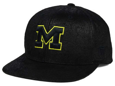 Michigan Wolverines Top of the World NCAA Phasely Snapback Cap