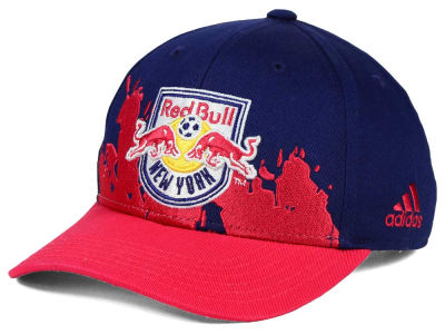 New York Red Bulls adidas MLS Kids Goal Scorer Adjustable Cap