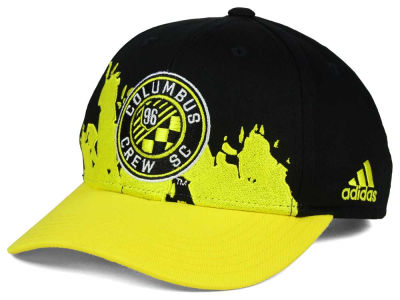 Columbus Crew SC adidas MLS Kids Goal Scorer Adjustable Cap