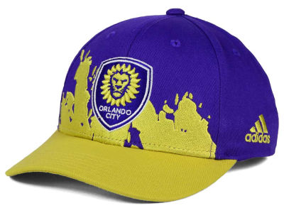 Orlando City SC adidas MLS Kids Goal Scorer Adjustable Cap
