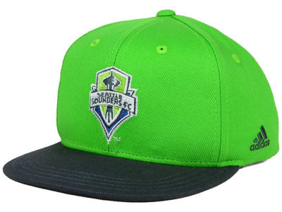 Seattle Sounders FC adidas MLS Kids Goalie Snapback Cap
