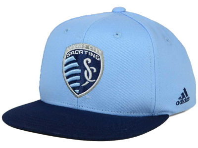 Sporting Kansas City adidas MLS Kids Goalie Snapback Cap