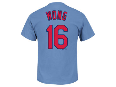 St. Louis Cardinals Kolten Wong MLB Men's Official Player T-Shirt