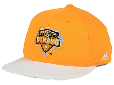 Houston Dynamo adidas MLS Kids Goalie Snapback Cap