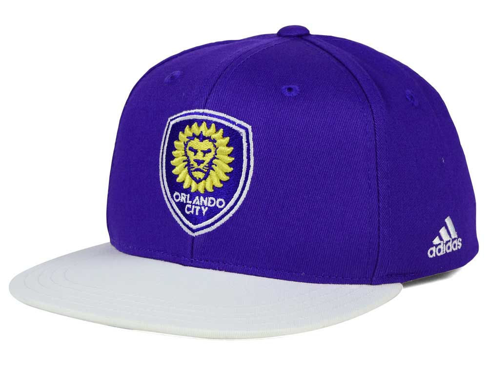 5cd60ed3443 ... closeout orlando city sc adidas mls kids goalie snapback cap bc79f 1a203