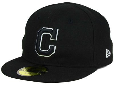 Cleveland Indians New Era MLB Youth My First Black/White 59FIFTY Cap