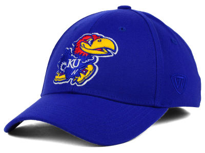 Kansas Jayhawks Top of the World NCAA Memory Fit PC Cap