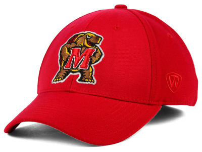 Maryland Terrapins Top of the World NCAA Memory Fit PC Cap