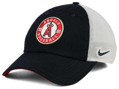 Los Angeles Angels Nike MLB Dri-Fit Mesh Swoosh Adjustable Cap