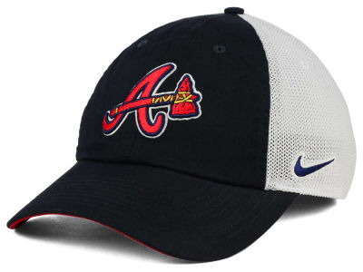 Atlanta Braves Nike MLB Dri-Fit Mesh Swoosh Adjustable Cap