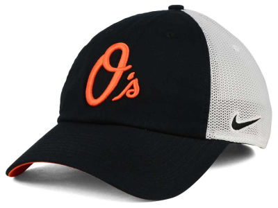 Baltimore Orioles Nike MLB Dri-Fit Mesh Swoosh Adjustable Cap