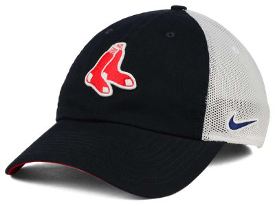 Boston Red Sox Nike MLB Dri-Fit Mesh Swoosh Adjustable Cap