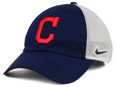 Cleveland Indians Nike MLB Dri-Fit Mesh Swoosh Adjustable Cap