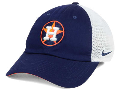 Houston Astros Nike MLB Dri-Fit Mesh Swoosh Adjustable Cap