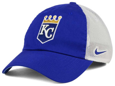 Kansas City Royals Nike MLB Dri-Fit Mesh Swoosh Adjustable Cap