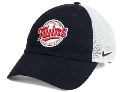 Minnesota Twins Nike MLB Dri-Fit Mesh Swoosh Adjustable Cap