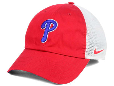 Philadelphia Phillies Nike MLB Dri-Fit Mesh Swoosh Adjustable Cap