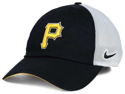 Pittsburgh Pirates Nike MLB Dri-Fit Mesh Swoosh Adjustable Cap