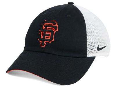 San Francisco Giants Nike MLB Dri-Fit Mesh Swoosh Adjustable Cap