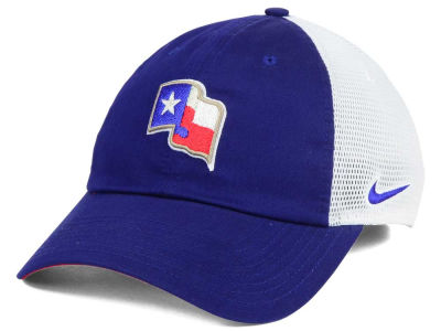 Texas Rangers Nike MLB Dri-Fit Mesh Swoosh Adjustable Cap