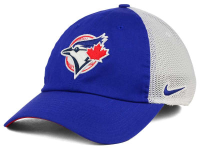 Toronto Blue Jays Nike MLB Dri-Fit Mesh Swoosh Adjustable Cap