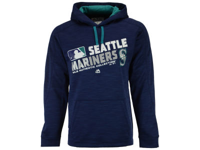 Seattle Mariners MLB Men's Authentic Collection Hoodie