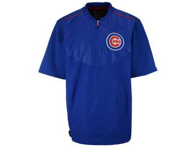 Chicago Cubs Majestic MLB Men's AC Short Sleeve Training Jacket