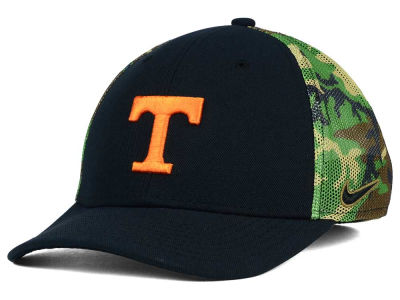 Tennessee Volunteers Nike NCAA Camo Hook Swooshflex Cap