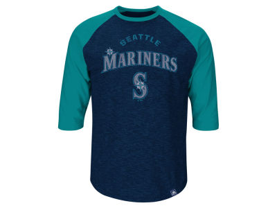 Seattle Mariners Randy Johnson MLB Men's Player Tactics Raglan T-Shirt