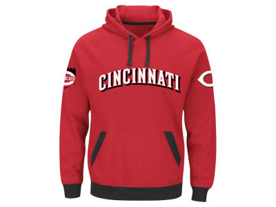 Cincinnati Reds MLB Men's Third Wind Hoodie
