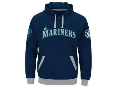 Seattle Mariners MLB Men's Third Wind Hoodie