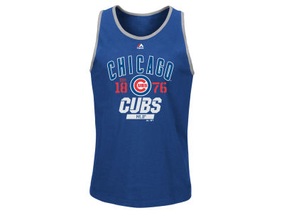 Chicago Cubs Majestic MLB Men's Flawless Victory Tank