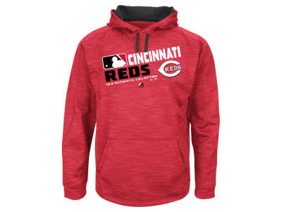 Cincinnati Reds MLB Men's Authentic Collection Hoodie