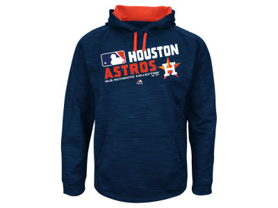 Houston Astros Majestic MLB Men's AC Team Choice ES Fleece Hoodie