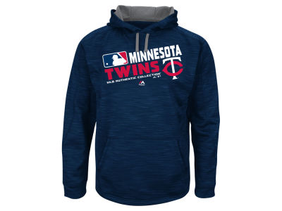 Minnesota Twins Majestic MLB Men's Authentic Collection Hoodie
