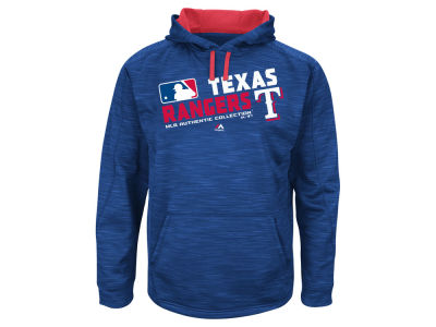Texas Rangers MLB Men's Authentic Collection Hoodie