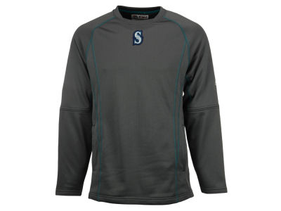 Seattle Mariners MLB Men's AC Practice Pullover Shirt