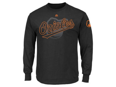 Baltimore Orioles MLB Men's Pressing Issues Long Sleeve T-Shirt