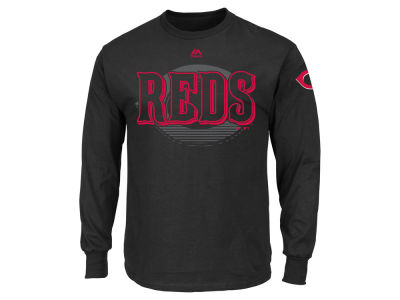 Cincinnati Reds MLB Men's Pressing Issues Long Sleeve T-Shirt