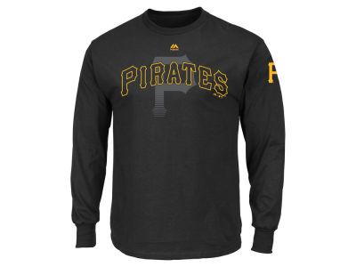 Pittsburgh Pirates MLB Men's Pressing Issues Long Sleeve T-Shirt