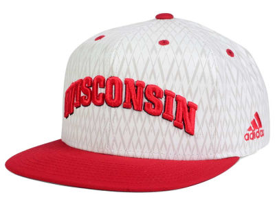Wisconsin Badgers adidas NCAA Two Tone Reflective Snapback Cap