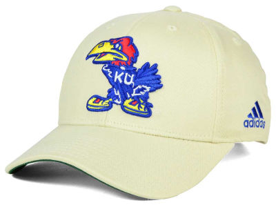 Kansas Jayhawks adidas NCAA Hardwood Classics Adjustable Cap