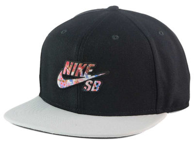 Nike Ripped Floral Pro Snapback Cap