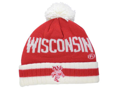 Wisconsin Badgers adidas NCAA Hardwood Classics Knit