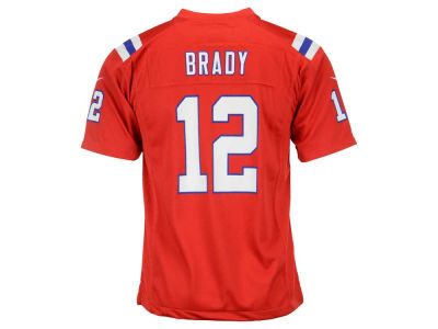 New England Patriots Tom Brady Nike NFL Youth Game Jersey