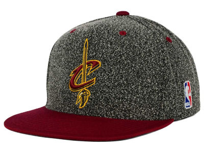 Cleveland Cavaliers Mitchell and Ness NBA Static Team Logo Snapback Cap