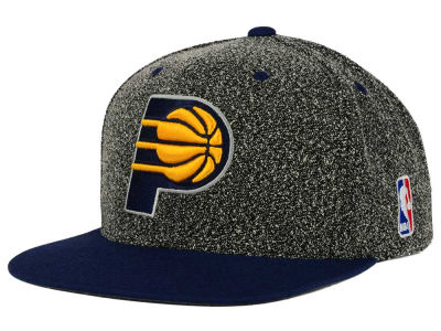 Indiana Pacers Mitchell and Ness NBA Static Team Logo Snapback Cap